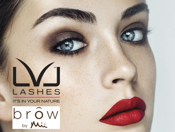 Eyeslash tinting and eyelas extensions by LVL, Leicestershire